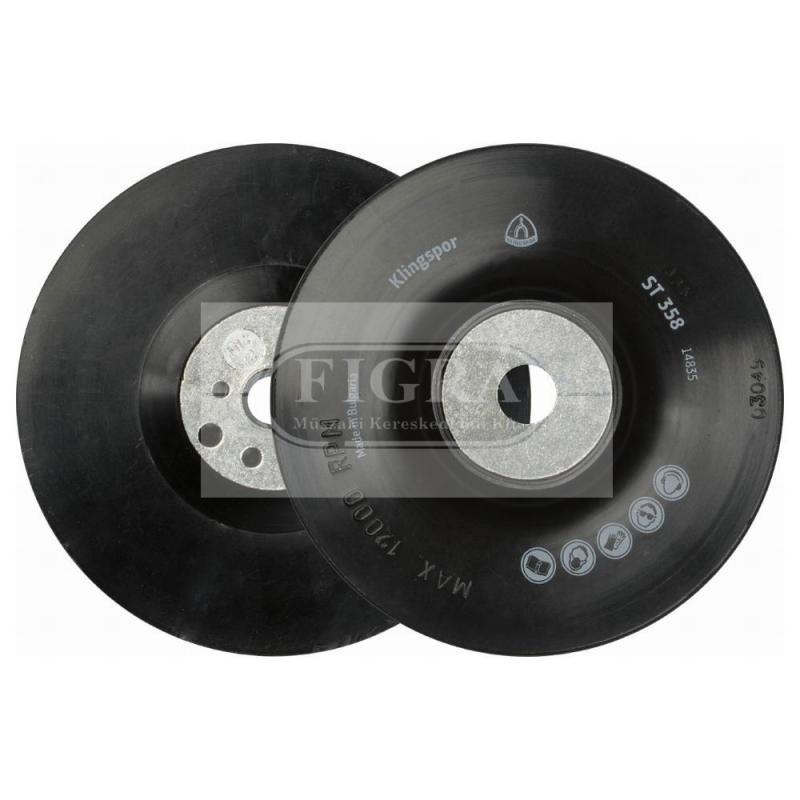 Fíber felfogó gumi tányér
